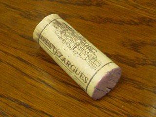 エステザルグ葡萄栽培者組合印の入ったコルク