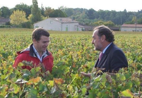 ティボー・ディスパーニュとミシェル・ロラン