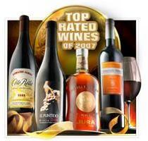 ワイン・エンスージアスト2007年のトップ100にて見事第1位