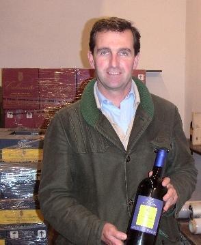 ポッジオ・ア・ポッピアーノのオーナー、フェデリコ・ジレリ氏