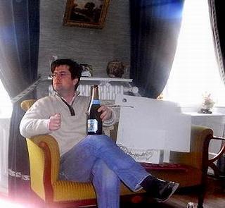 アンドレ・クルエ現当主、ジャン・フランソワ