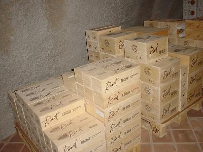 エリオ・グラッソ,ワインをストックする部屋