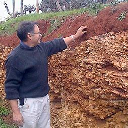 クナワラ ハイバンクの土壌
