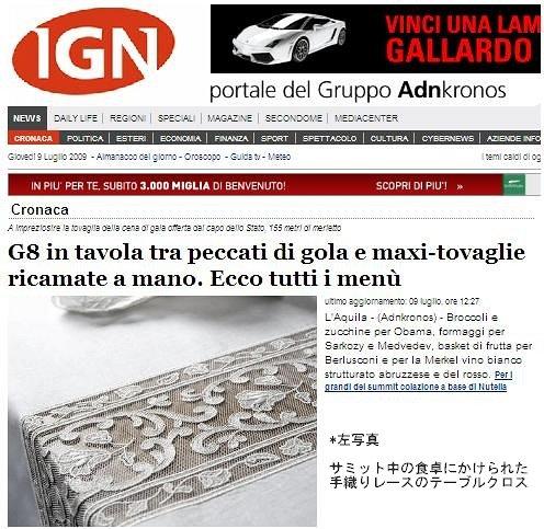 イタリアのインターネット・ニュース・サイト「IGN」