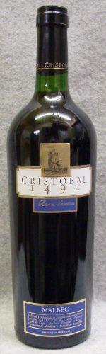 ドン・クリストバル1492 バレル・セレクション・マルベック2011