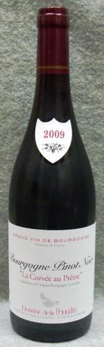 ドメーヌ・ド・ラ・プレット ブルゴーニュ・ピノ・ノワール ラ・コルヴェ・オー・プレートル2009