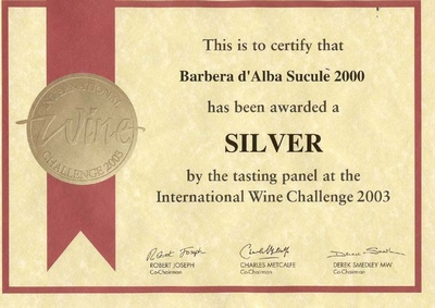 インターナショナル・ワイン・チャレンジ2003