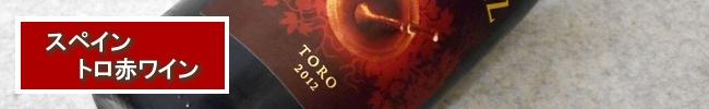 スペイン、トロの赤ワイン