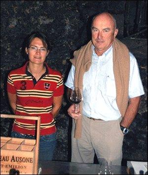 アラン・ヴォーティエ氏と娘のポーリーヌ