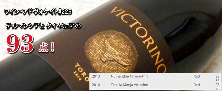 テソ・ラ・モンハ ヴィクトリーノ2014